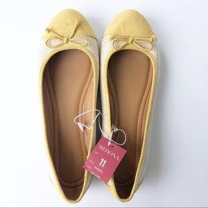 Merona Madge Yellow Ballet Flats